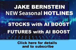 Jake Bernstein | Seasonal Hotlines - Stocks and Futures