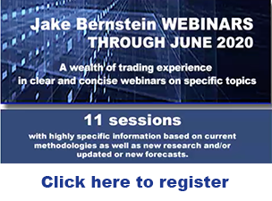 Jake Bernstein | 2020 Webinars Through June