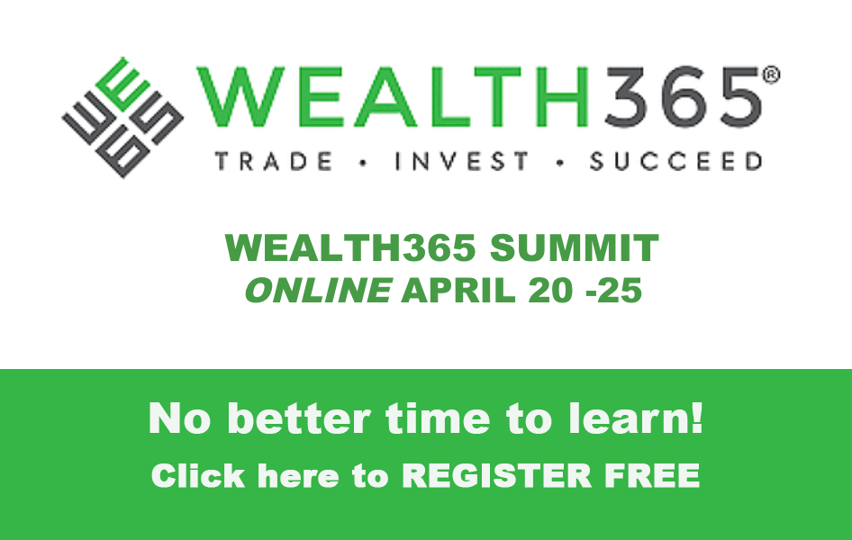 Join Jake Bernstein at the WEALTH365 Summit