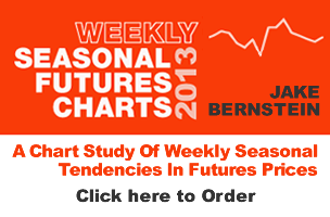 Jake Bernstein  | Weekly Seasonal Futures Charts 2013