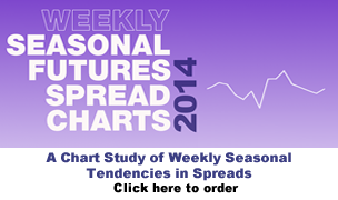 Jake Bernstein  | Weekly Seasonal Spreads Chartbook 2014