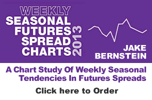 Jake Bernstein  | Weekly Seasonal Futures Spread Charts 2013